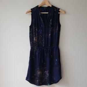 Aritzia Sz XXS Babaton Benedict Silk Dress Floral